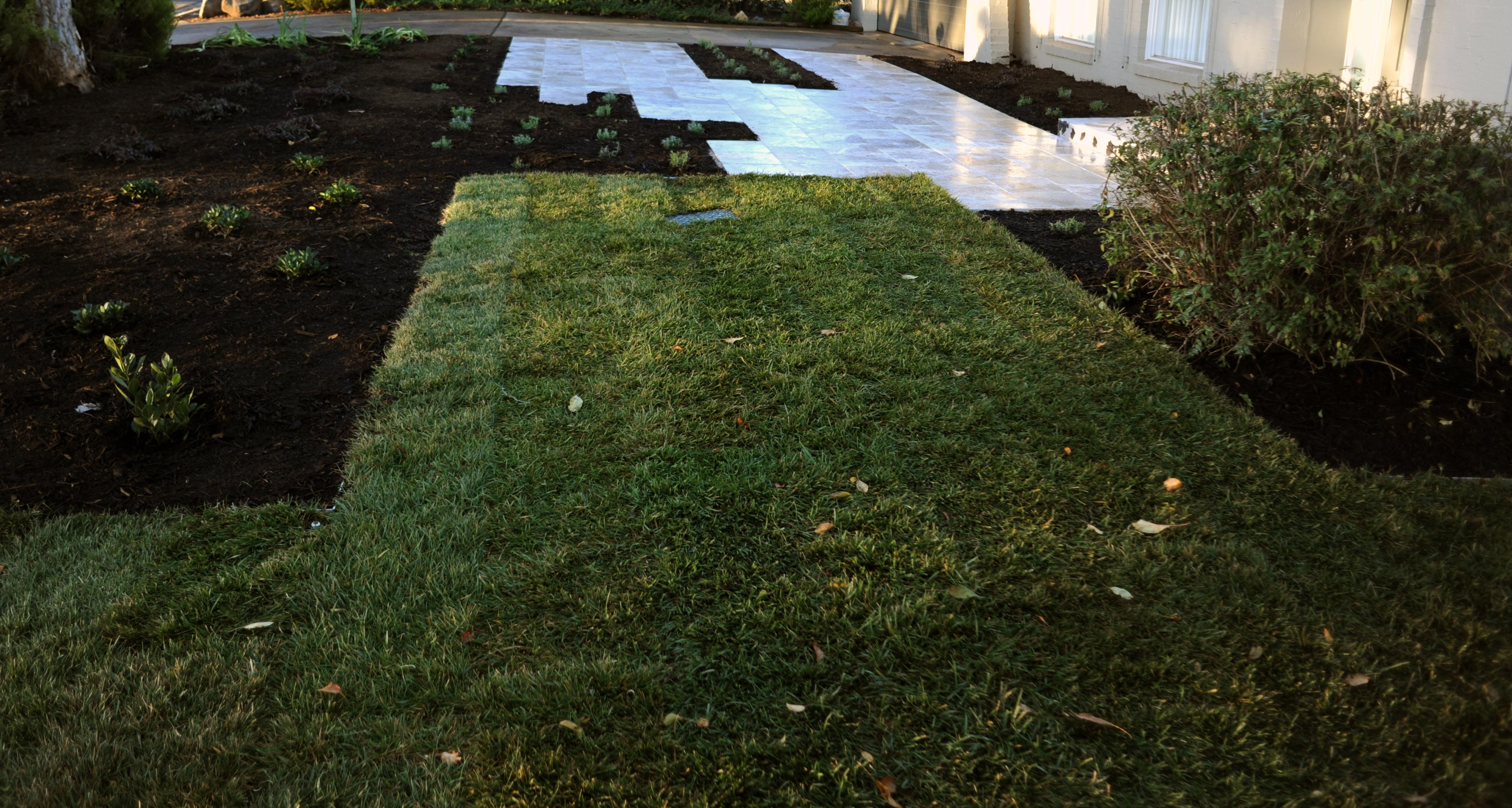 Bromell Circuit, ACT. Paving, Garden and Turfing