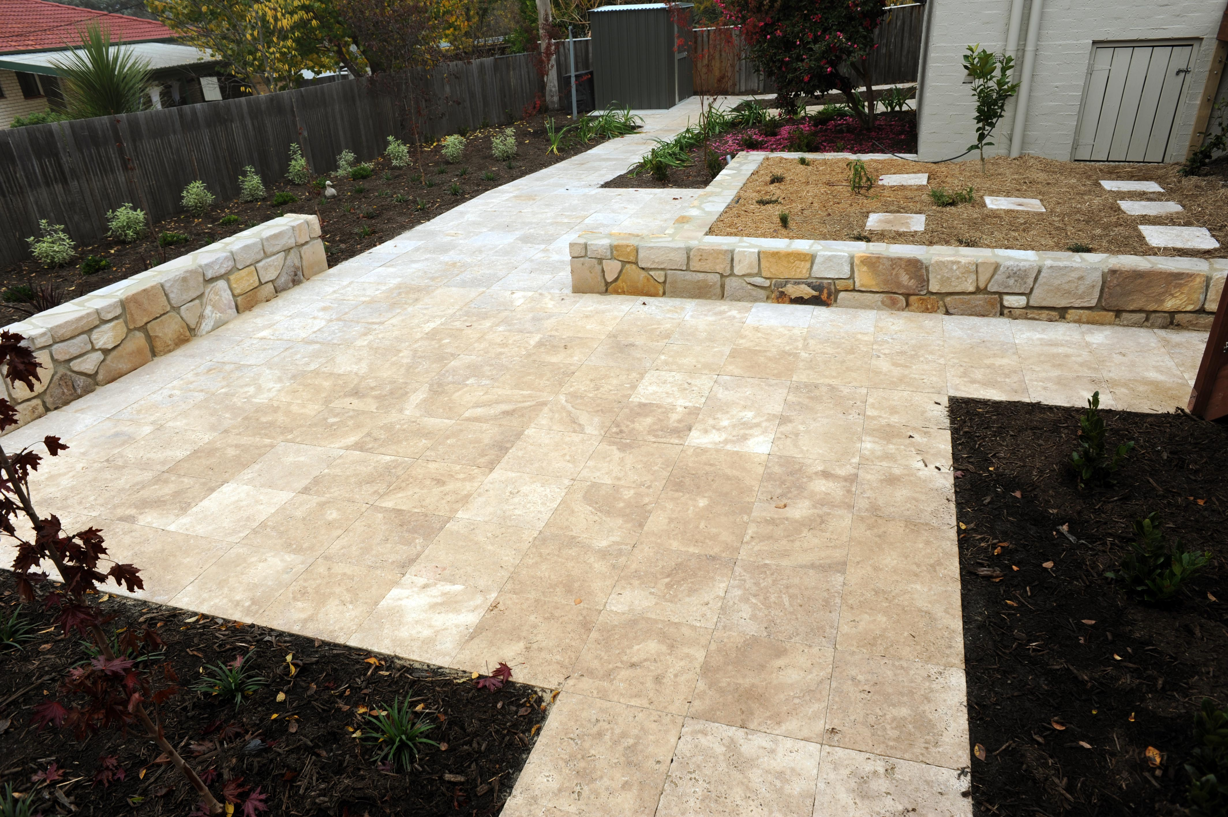 Bromell Circuit, ACT. Paving, Garden and Masonry